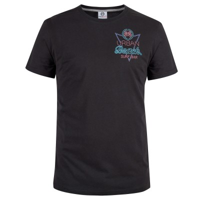 Mens Black Neon T-Shirt