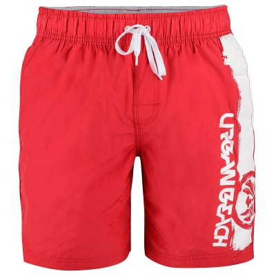 Mens Red Rodriguez Volley Shorts