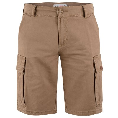 Mens Brown Duke Cargo Shorts