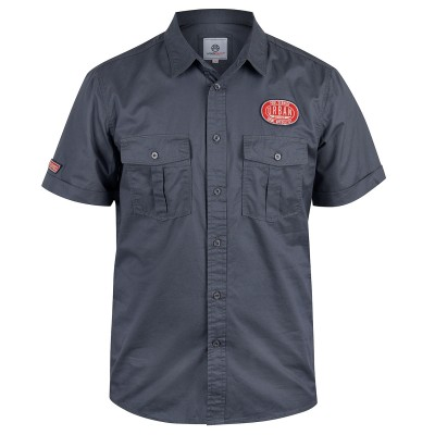 Mens Grey Exon Gas Tender Shirt