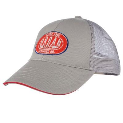 Grey Attendant Trucker Cap
