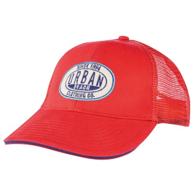 Red Attendant Trucker Cap