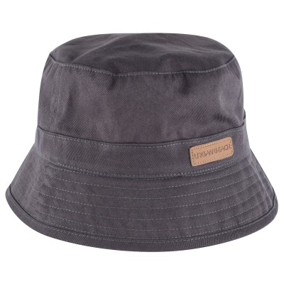 Mens Grey Hilo Bucket Hat