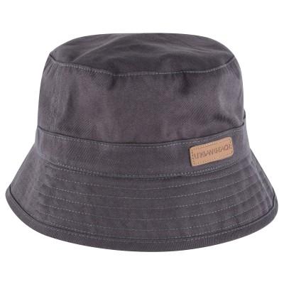 Mens Grey Hilo Bucket Hat