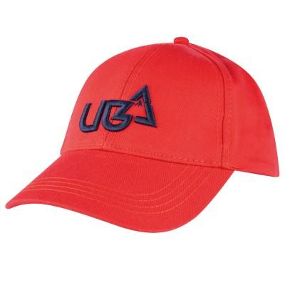 Red Peak Snapback Cap