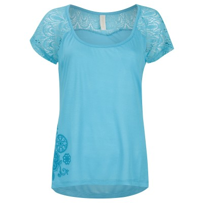 Womens Aqua Island House T-Shirt