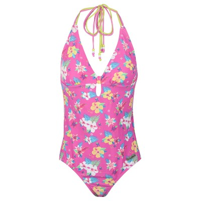 Womens Pink Cadillac Cruise Swimsuit