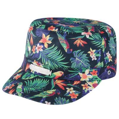 Black Little Havana Castro Hat