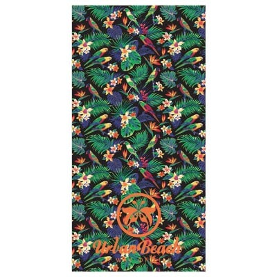 Tropical Jungle Beach Towel