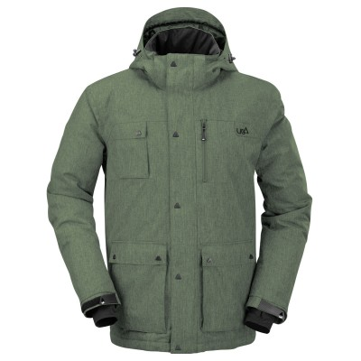 Mens Green Olen Technical Jacket