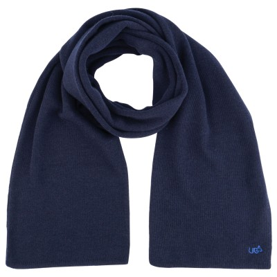 Men's Wrapper Navy Scarf