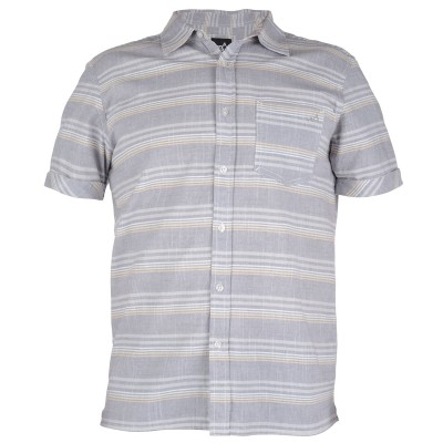 Mens Fuji Short Sleeved Surf Shirt - Grey