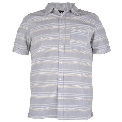 Mens Fuji Short Sleeved Surf Shirt - Grey