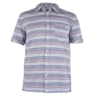Mens Fuji Short Sleeved Surf Shirt - Navy