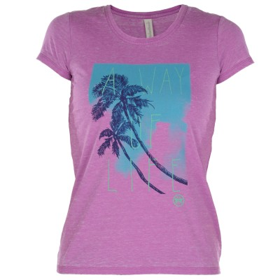 Womens Yosemite T-Shirt - Fuchsia