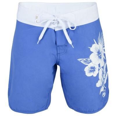 Womens Widemouth Board Shorts - Blue