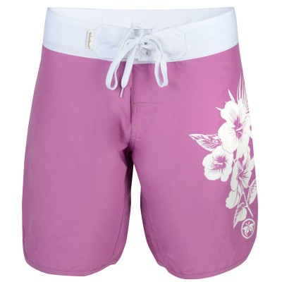 Womens Widemouth Board Shorts - Pink