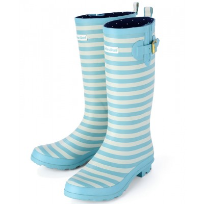 Womens Carnaby Stripe Festival Wellies