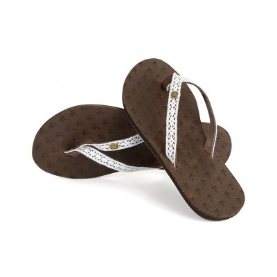 Womens Iona Leather Flipflops