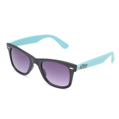 Two Tone Wayfarer Sunglasses Black
