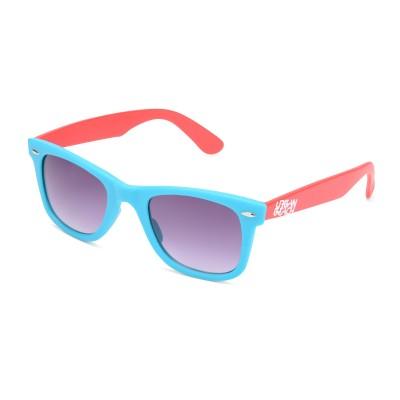 Two Tone Wayfarer Sunglasses Blue