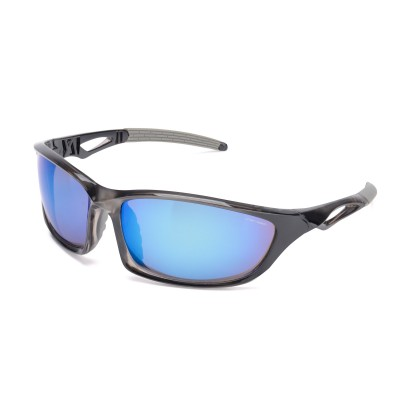Mens Transition Wraparound Sunglasses Black