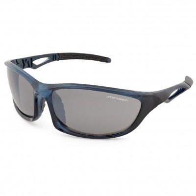 Mens Transition Wraparound Sunglasses Blue
