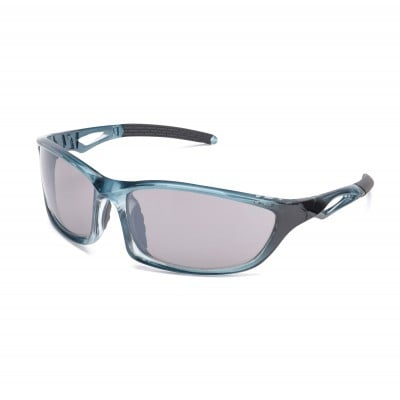 Mens Transition Wraparound Sunglasses Blue