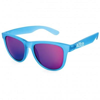 Unisex Blue Tron Wayfarer Sunglasses