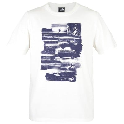 Mens Kaili T-Shirt - White