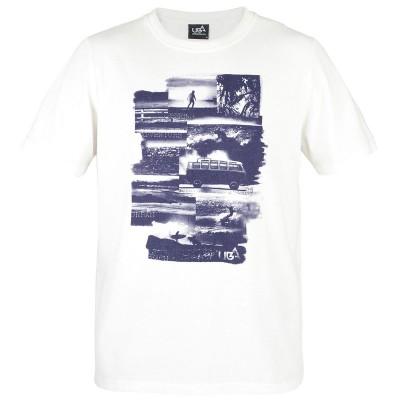 Mens Kaili T-Shirt - White