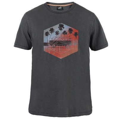Mens Kaneoche T-Shirt - Black