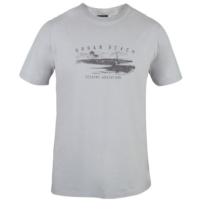 Mens Aiea T-Shirt - Grey