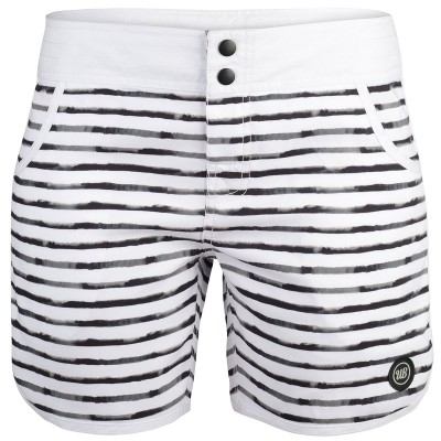 Womens Roc Board Shorts - White