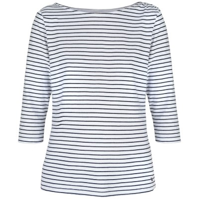 Womens Princeville Long Sleeve Top - Navy