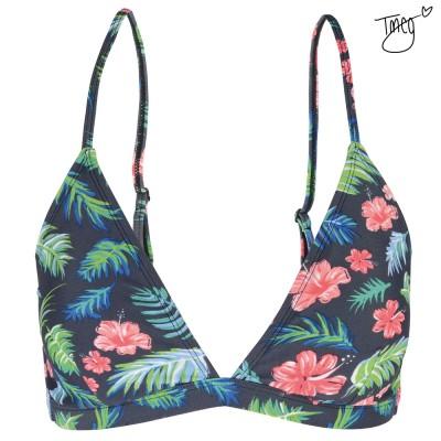 Wainha Tropical Print Bikini