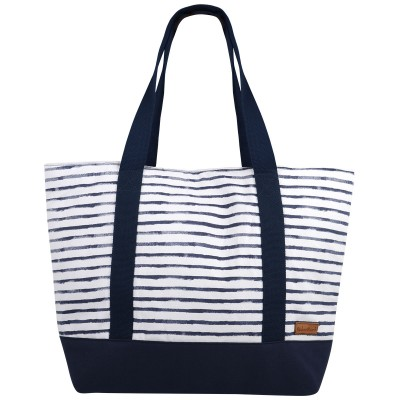 Hanalei Navy Stripe Shoulder Bag