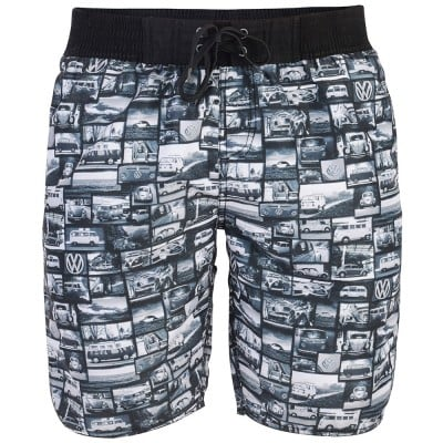 Mens Yarrow Board Short  - Black