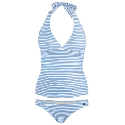 Womens Water Tankini - Light Blue