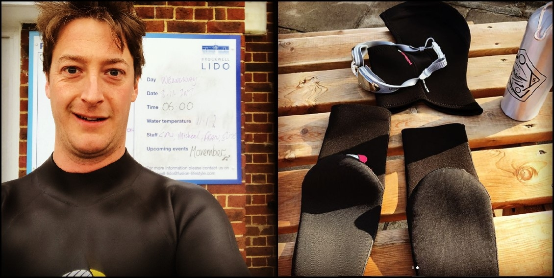 Hamish in Osprey wetsuit and accessories