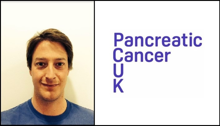 Hamish raising money for Pancreatic Cancer UK