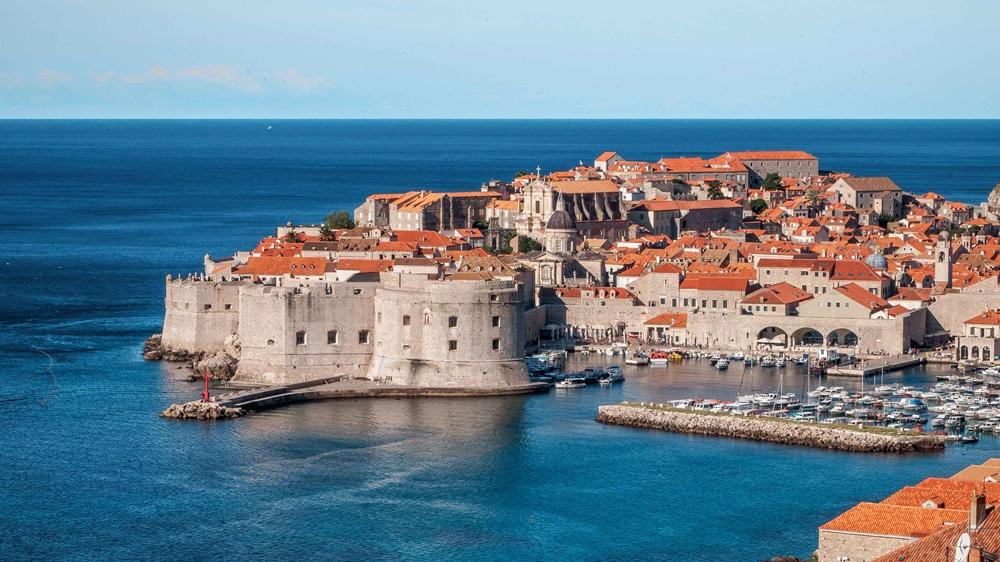 Old town in Croatia